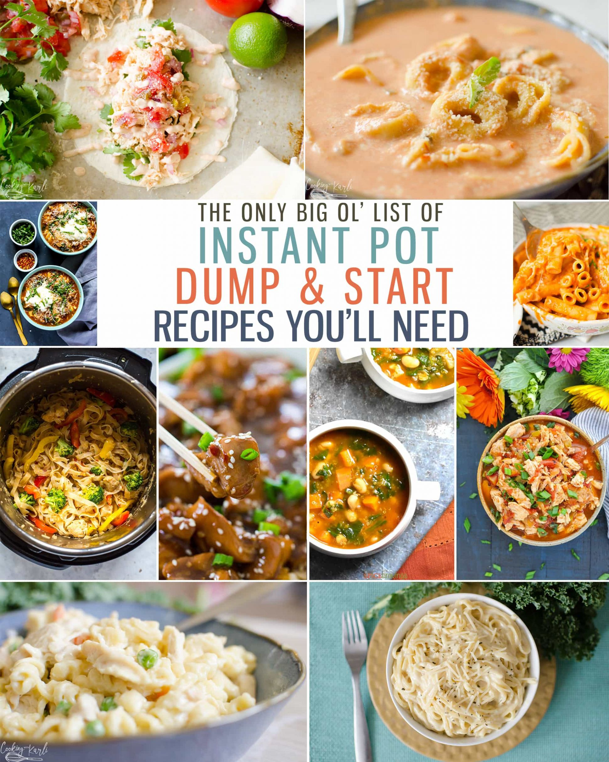 Top 11 Instant Pot Dump and Start Recipes - Cooking With Karli - Recipes Cooking Recipes