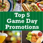 Top 12 Game Day Promo Ideas to try for your Restaurant | TriMark ...