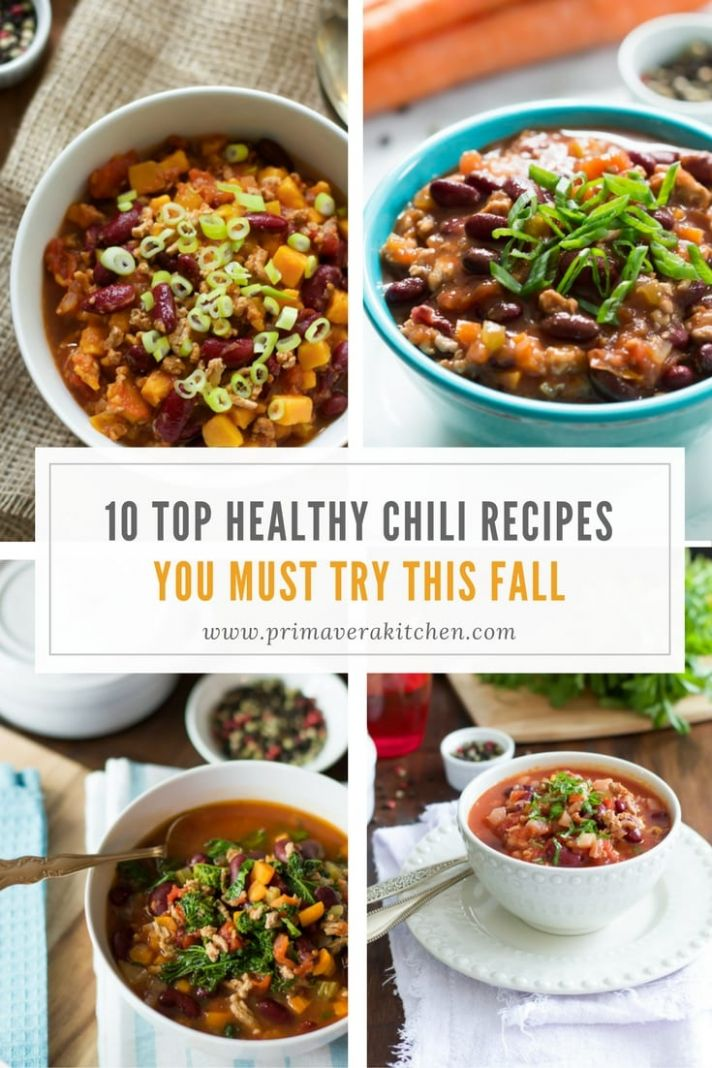 Top 12 Healthy Chili Recipes You Must Try This Fall - Primavera ..