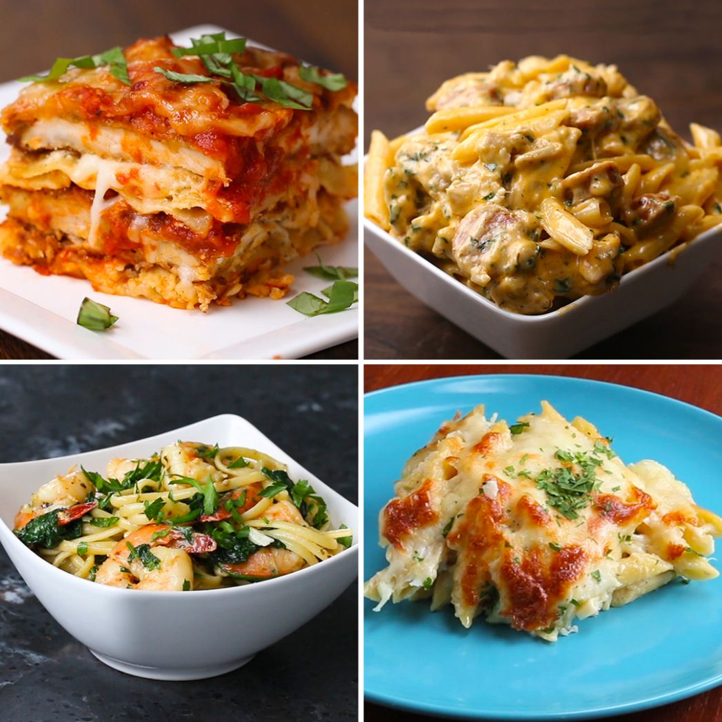 Top 12 Pasta Recipes