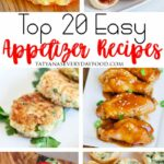 Top 8 Easy Appetizer Recipes