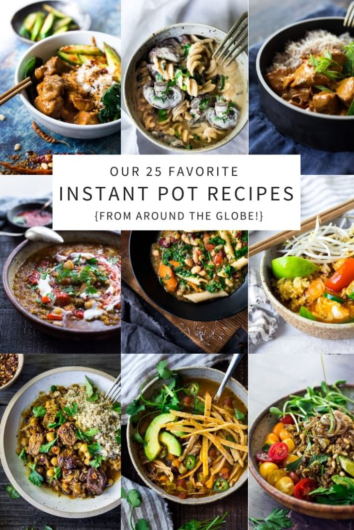 TOP 8 Instant Pot Recipes (from around the world!) | Feasting At Home - Dinner Recipes Instant Pot