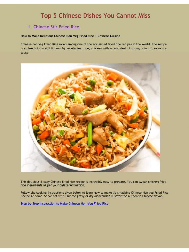 Top 9 Chinese Dishes You Cannot Miss - PDF Archive - Cooking Recipes Pdf