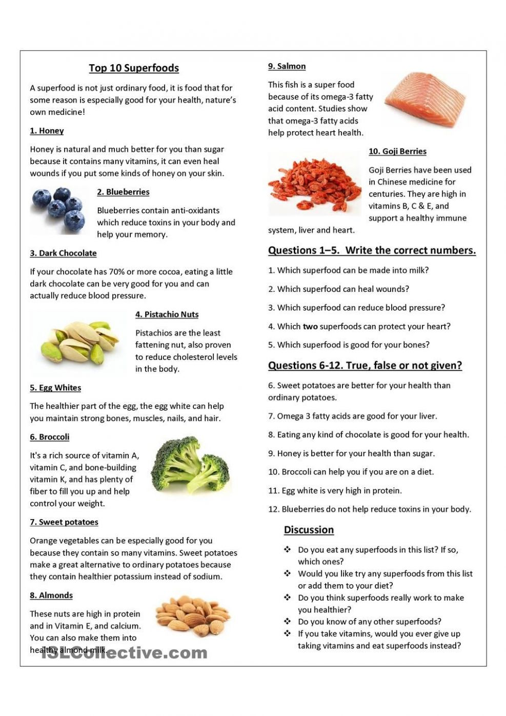 Top 9 Superfoods | Comida saludable, Alimentacion, Comida - Healthy Recipes Printable