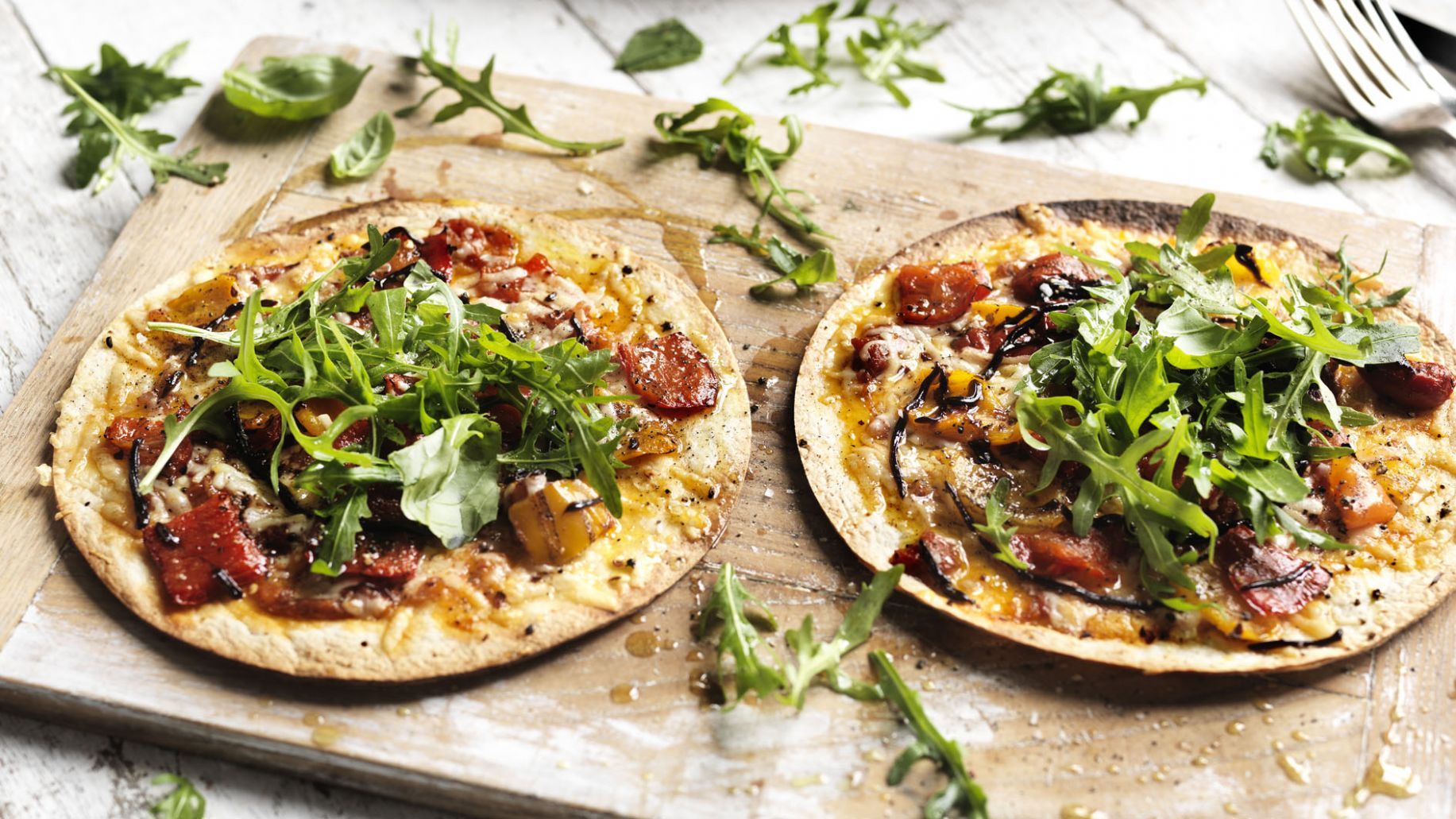 Tortilla pizza - Pizza Recipes Uk