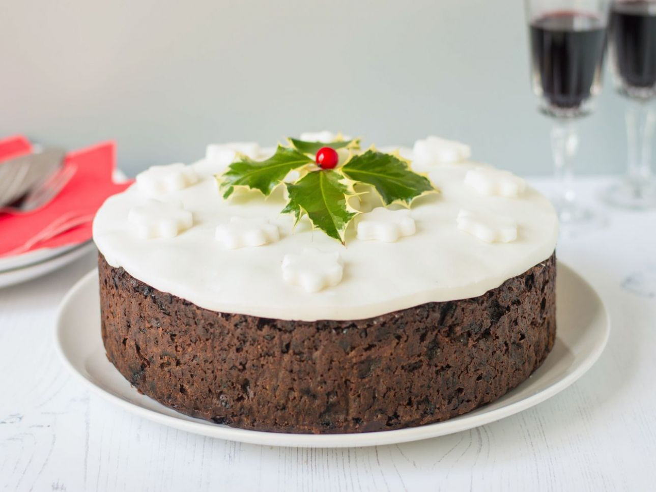 Traditional British Christmas Cake Recipe - Recipes Cakes For Christmas