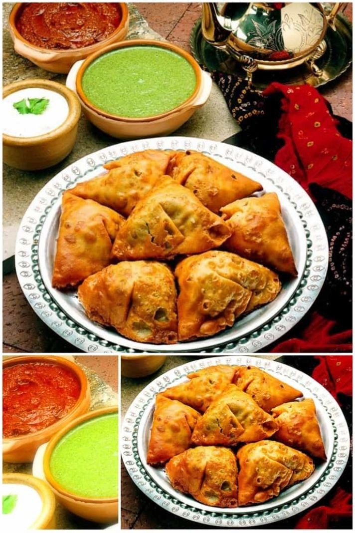 Traditional Indian Samosas - Healthy Recipes Vegetarian Indian
