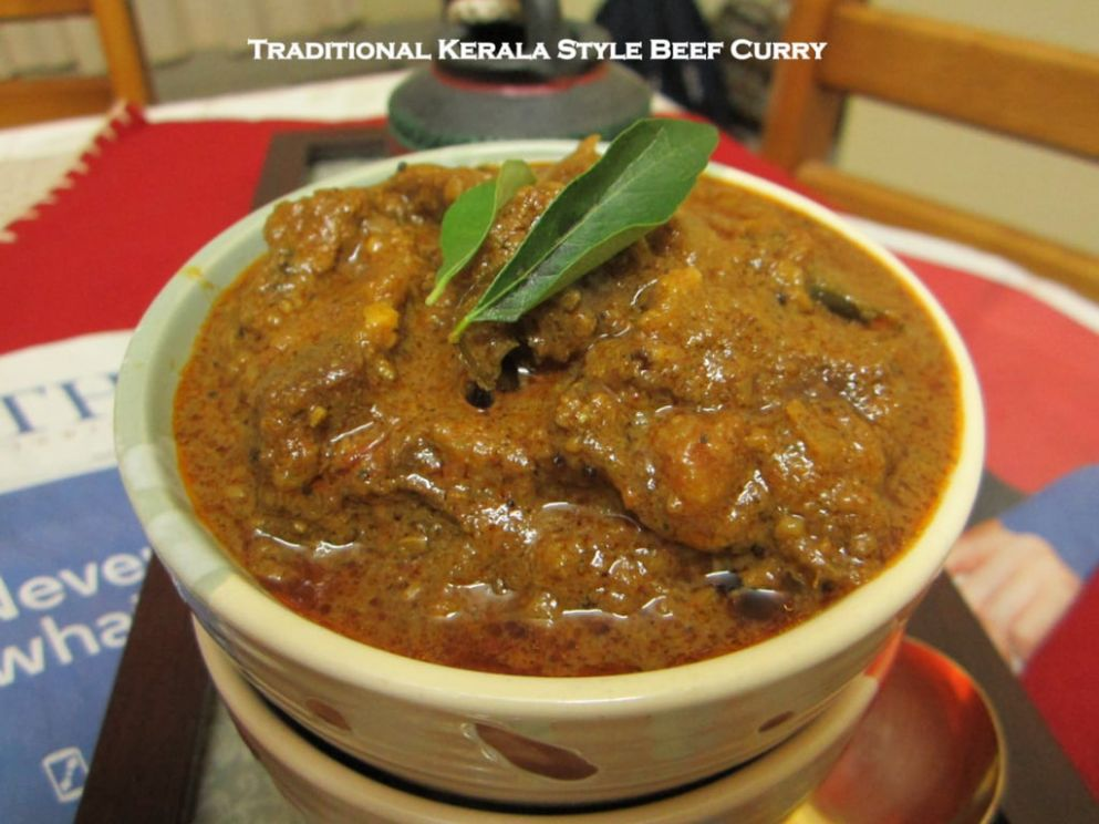 Traditional Kerala Style Beef Curry - Beef Recipes Kerala Style