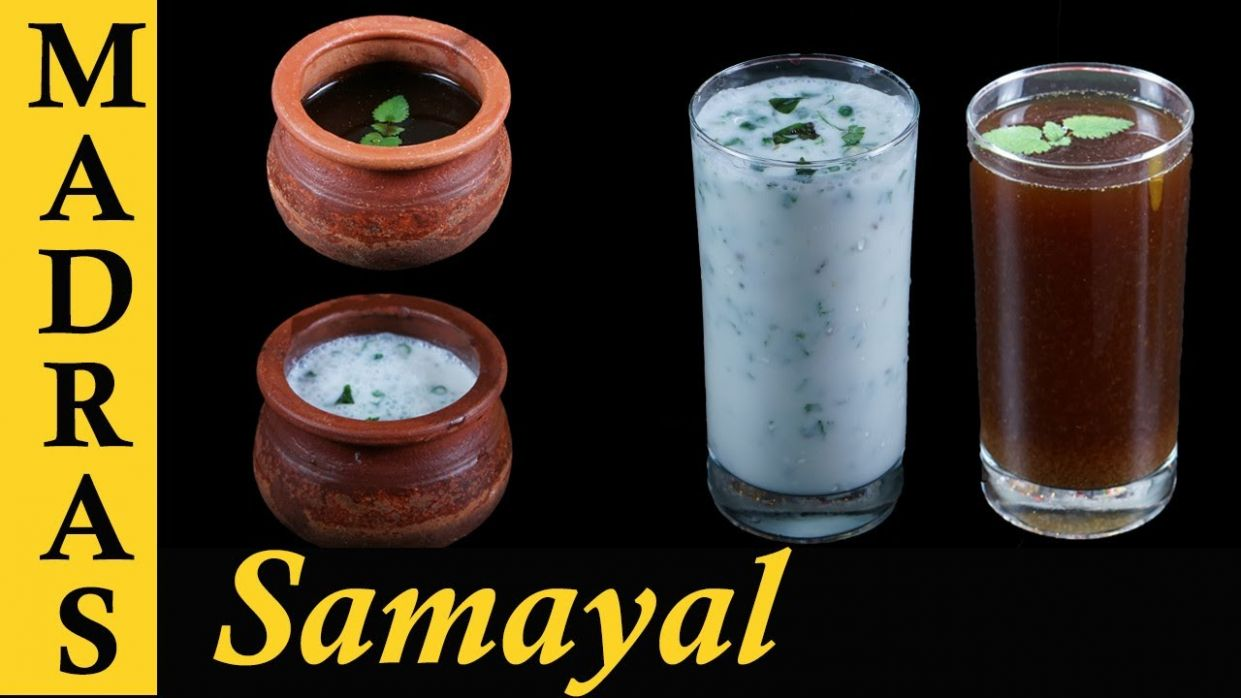 Traditional Summer drinks recipe in Tamil | Panakam Recipe and Neer More  Recipe | Masala Buttermilk - Summer Juice Recipes In Tamil