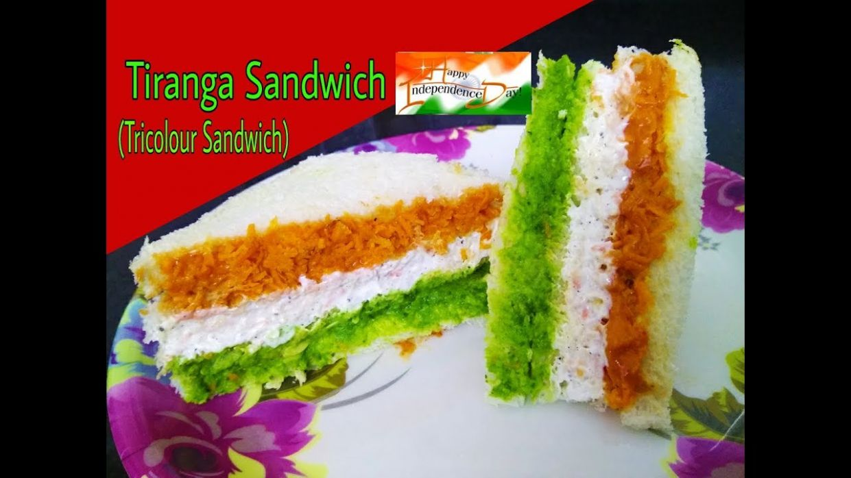 Tricolour Sandwich Recipe / Tiranga Sandwich / Easy Independence day  Special Sandwich Recipe - Sandwich Recipes Yummy Tummy