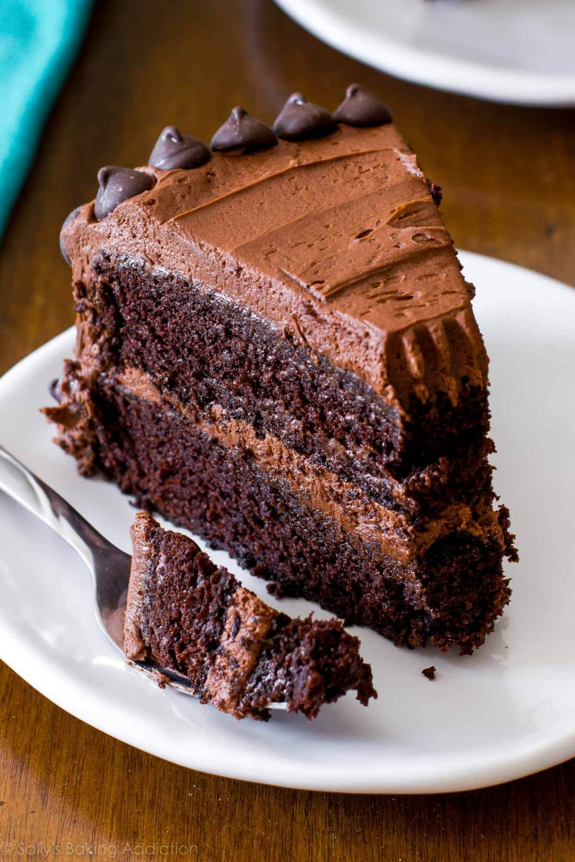 Triple Chocolate Layer Cake - Recipe Chocolate Layer Cake