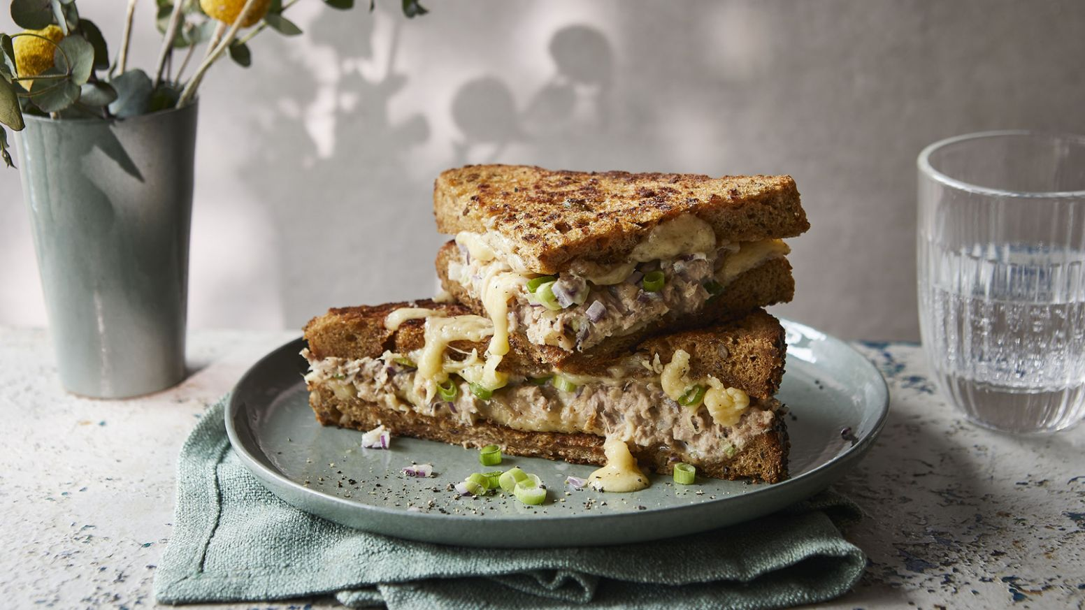 Tuna melt - Sandwich Recipes Bbc Good Food