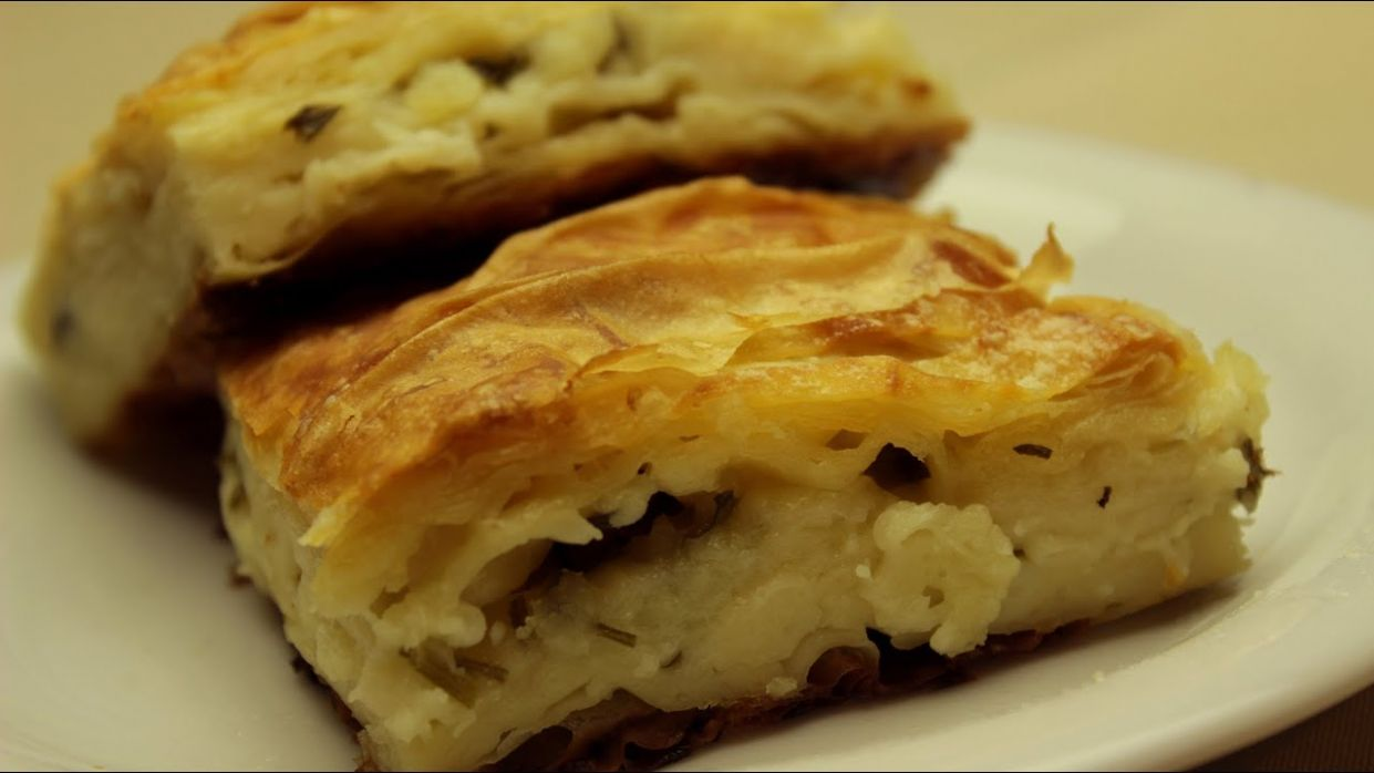 Turkish Water Borek- Delicious Cheese Borek Recipe