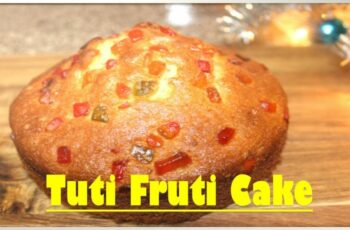 tutti frutti cake|#newyear cake|easy cake recipes|without oven ...