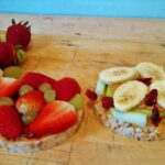 Twist On PB – Plain Quaker Rice Cake With All Natural PB And Fresh ..