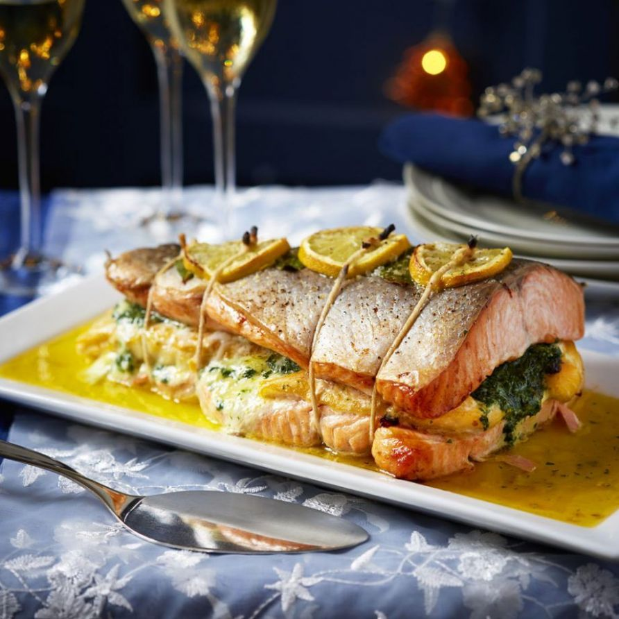 Two Fish Roast - Fish Recipes For Xmas Dinner