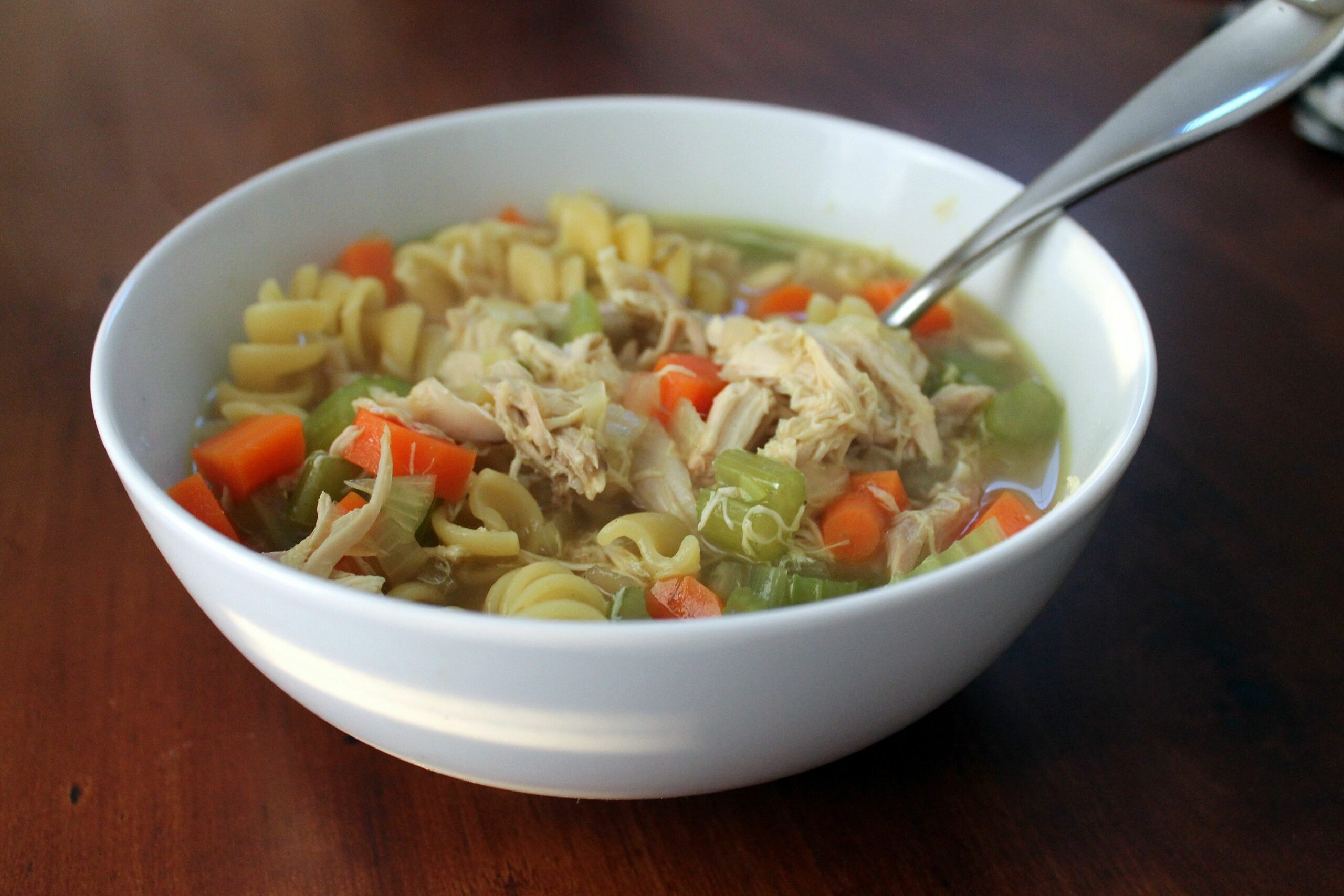 Two in One: Chicken Soup and Chicken Stock | The Kitchen is Calling - Soup Recipes Using Chicken Stock