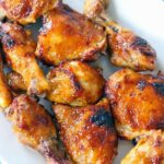 Two Ingredient Crispy Oven Baked BBQ Chicken – Recipe Chicken Oven Baked