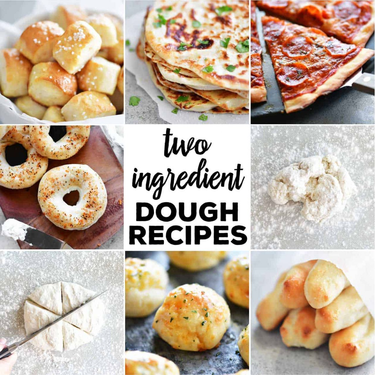 Two Ingredient Dough Recipes - Simple Recipes Not Many Ingredients