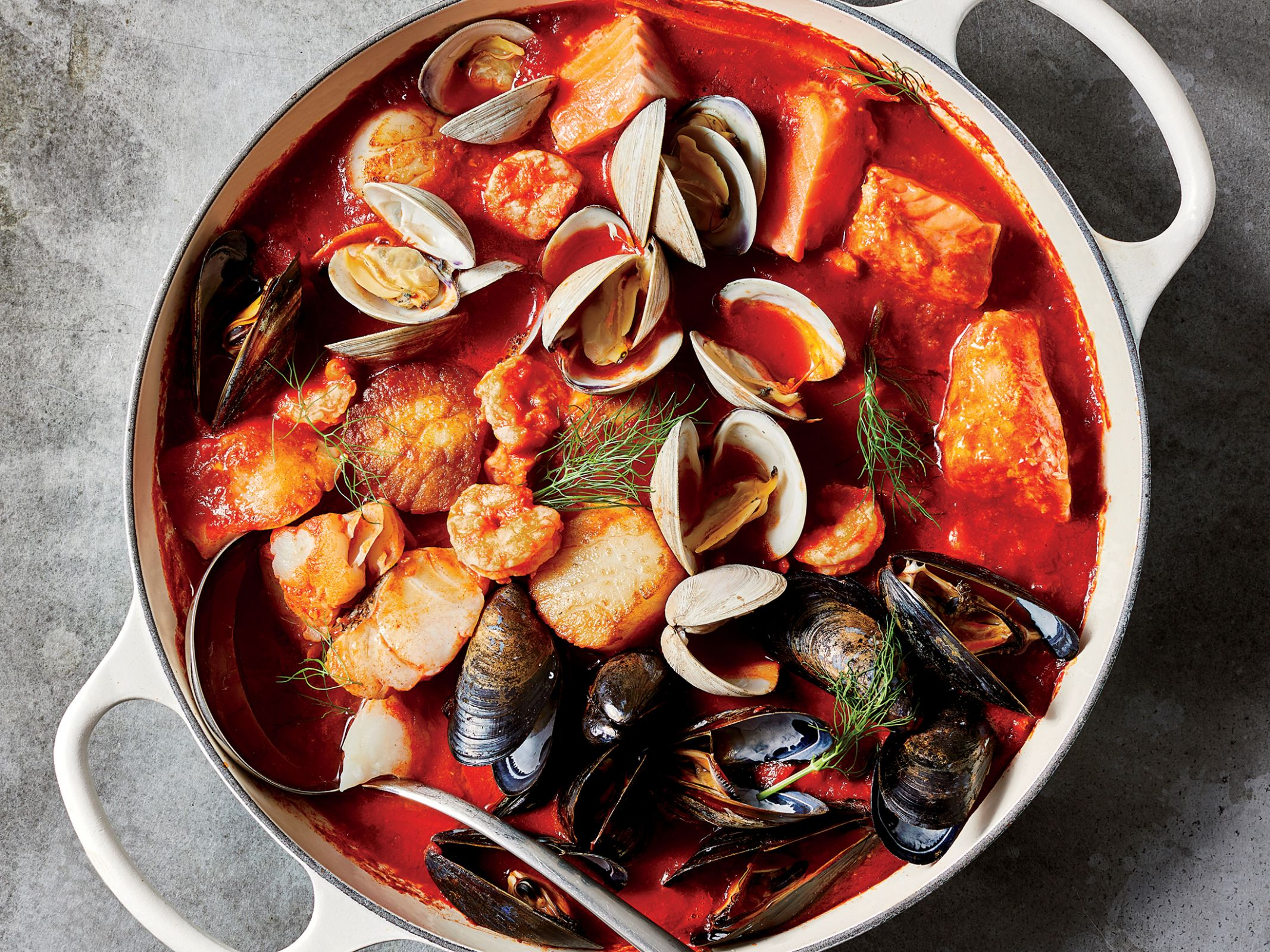 Ultimate Feast of the Seven Fishes Stew Recipe | Cooking Light - Fish Recipes For Xmas Eve