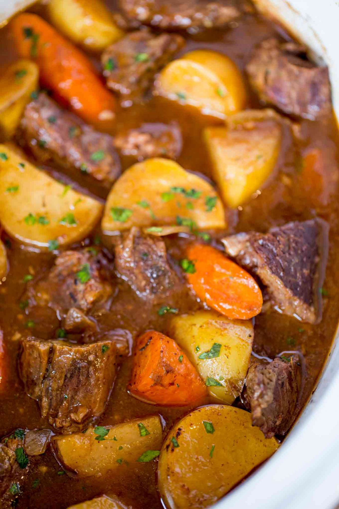 Ultimate Slow Cooker Beef Stew - Summer Recipes With Stew Meat