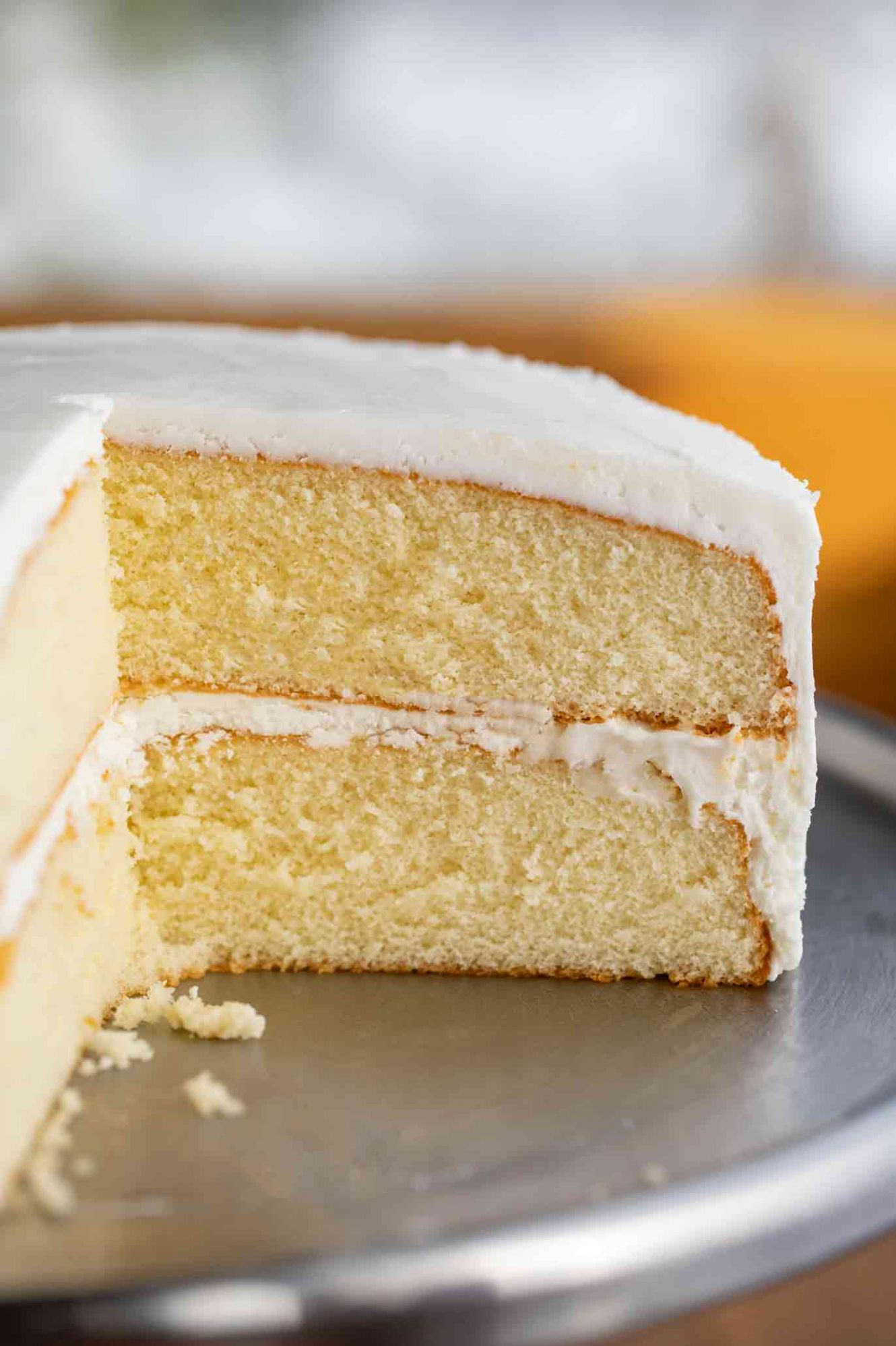 Vanilla Cake - Recipes Cakes From Scratch