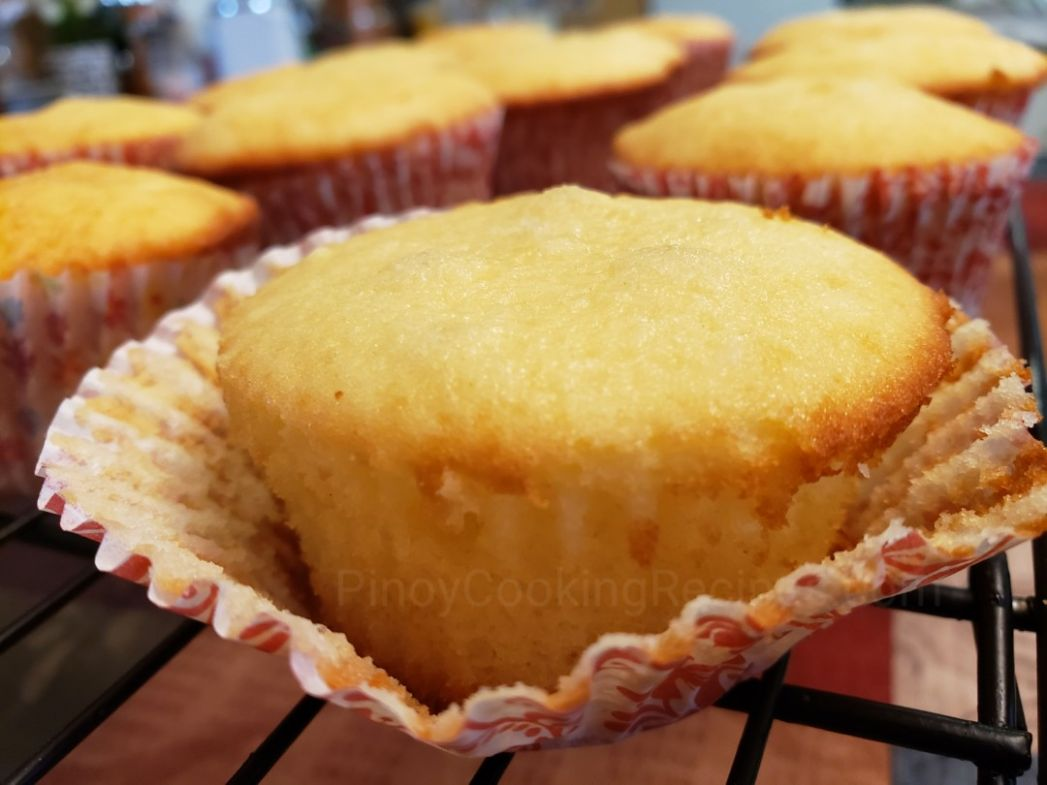 Vanilla Cupcakes - PinoyCookingRecipes
