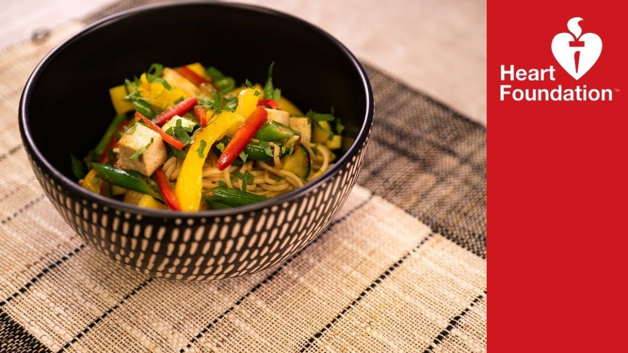 Veg-up noodles | Healthy Recipes | Heart Foundation NZ - Healthy Recipes Heart Foundation