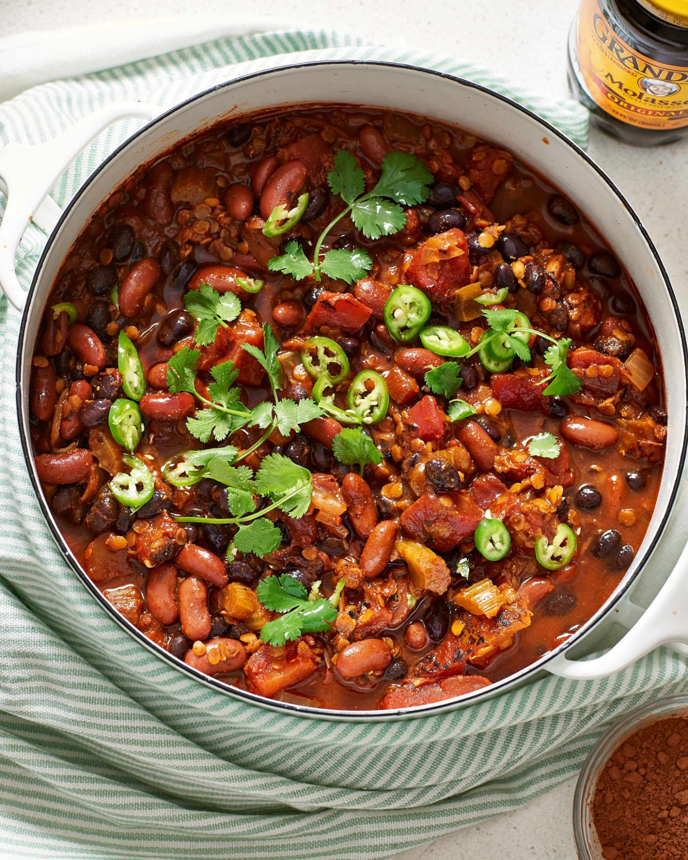 Vegan Chili - Recipes Vegetable Chilli