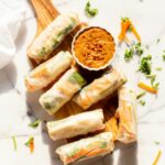 Vegan Fresh Spring Rolls With Peanut Sauce – Recipes Using Rice Paper