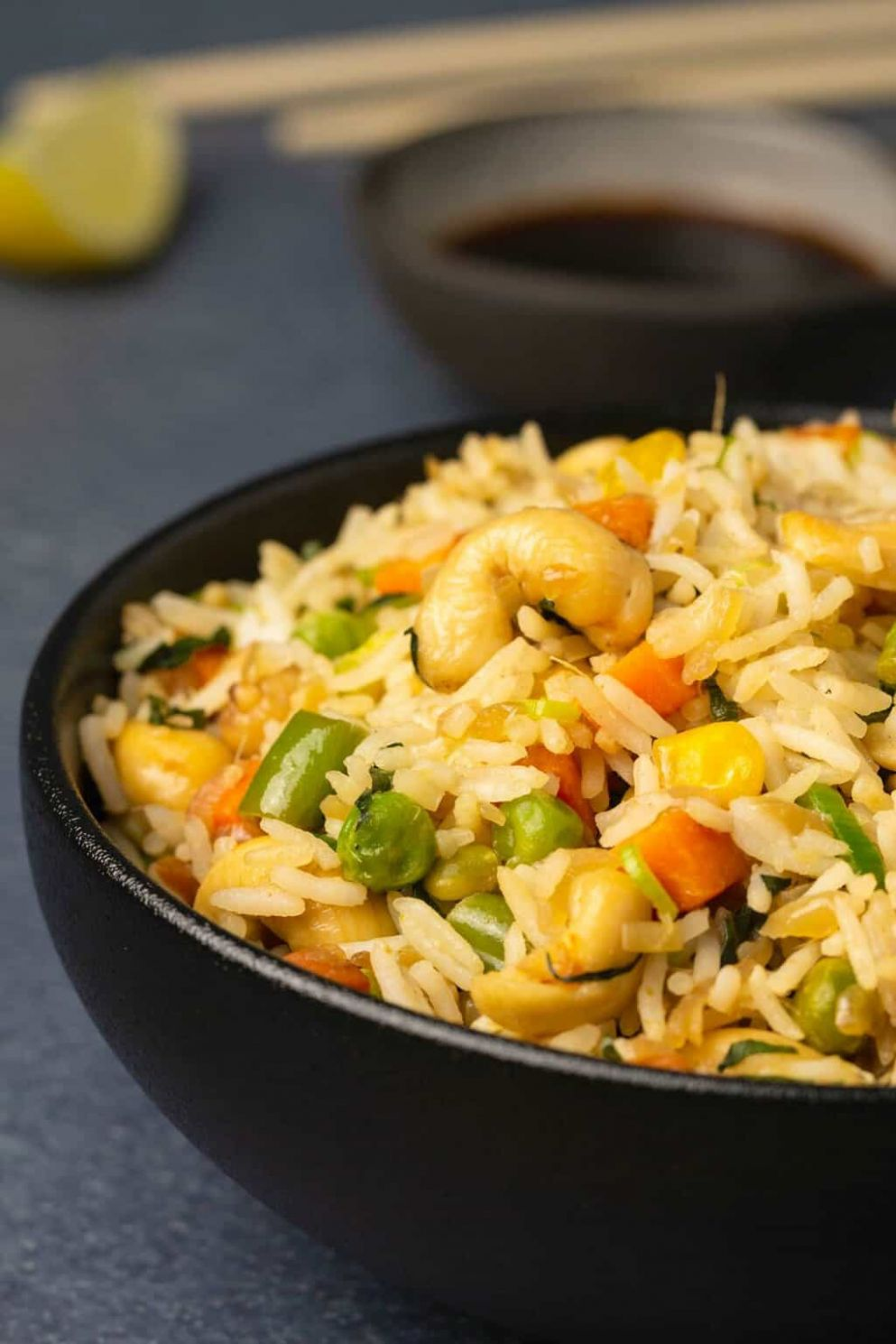 Vegan Fried Rice - Rice Recipes Veg