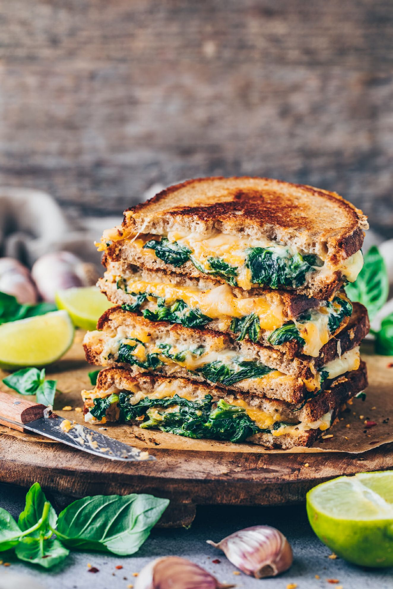 Vegan Grilled Cheese Sandwich - Sandwich Recipe Notes