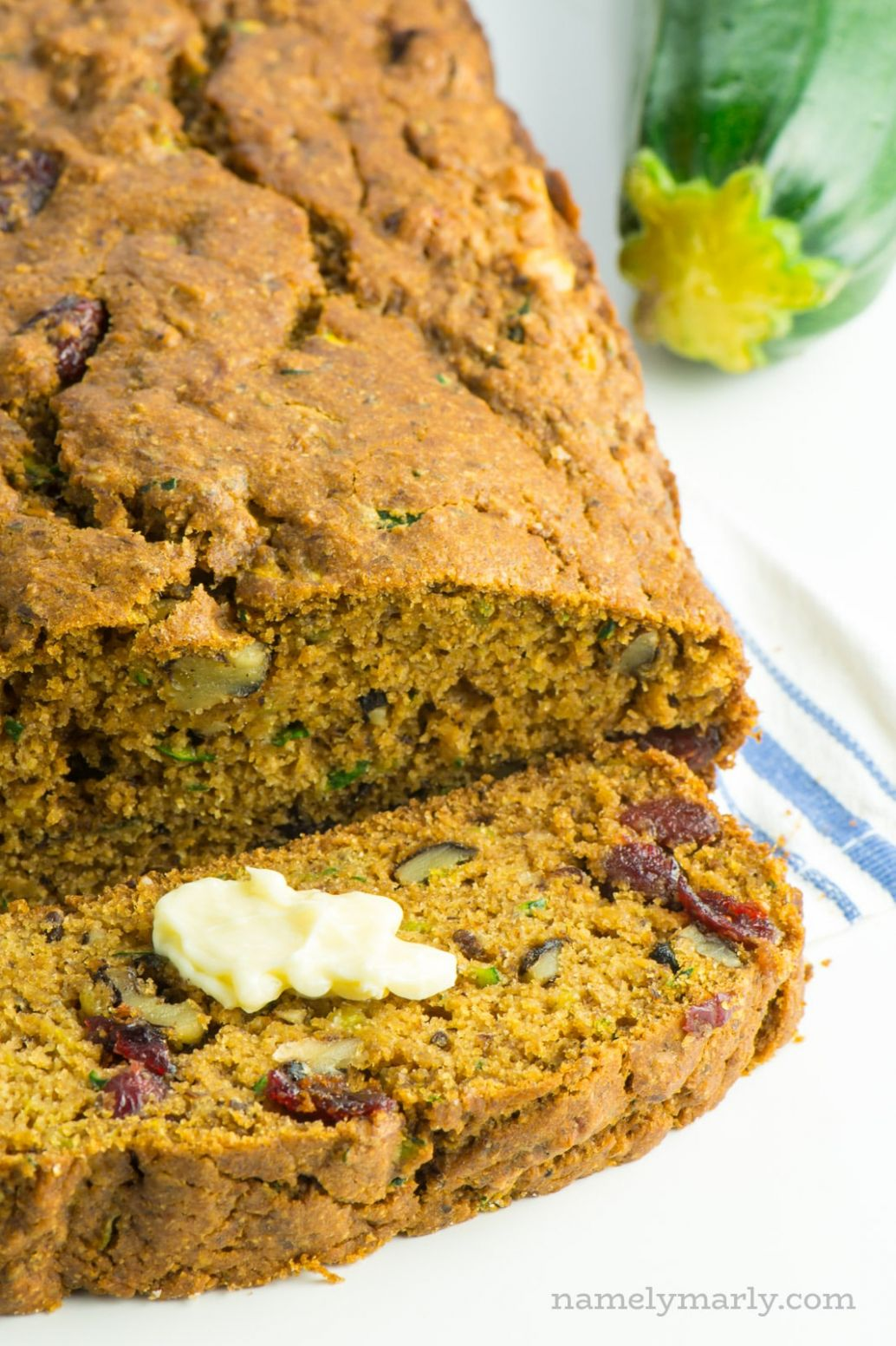 Vegan Healthy Zucchini Bread - Healthy Recipes Zucchini Bread