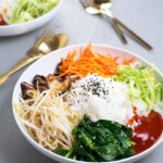 Vegan Korean Bibimbap – Healthy Recipes Korean