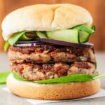 Vegan Mushroom Bean Burger – Recipes Vegetarian Patties