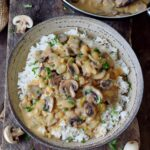 Vegan Mushroom Stroganoff – Rice Recipes Gluten Free