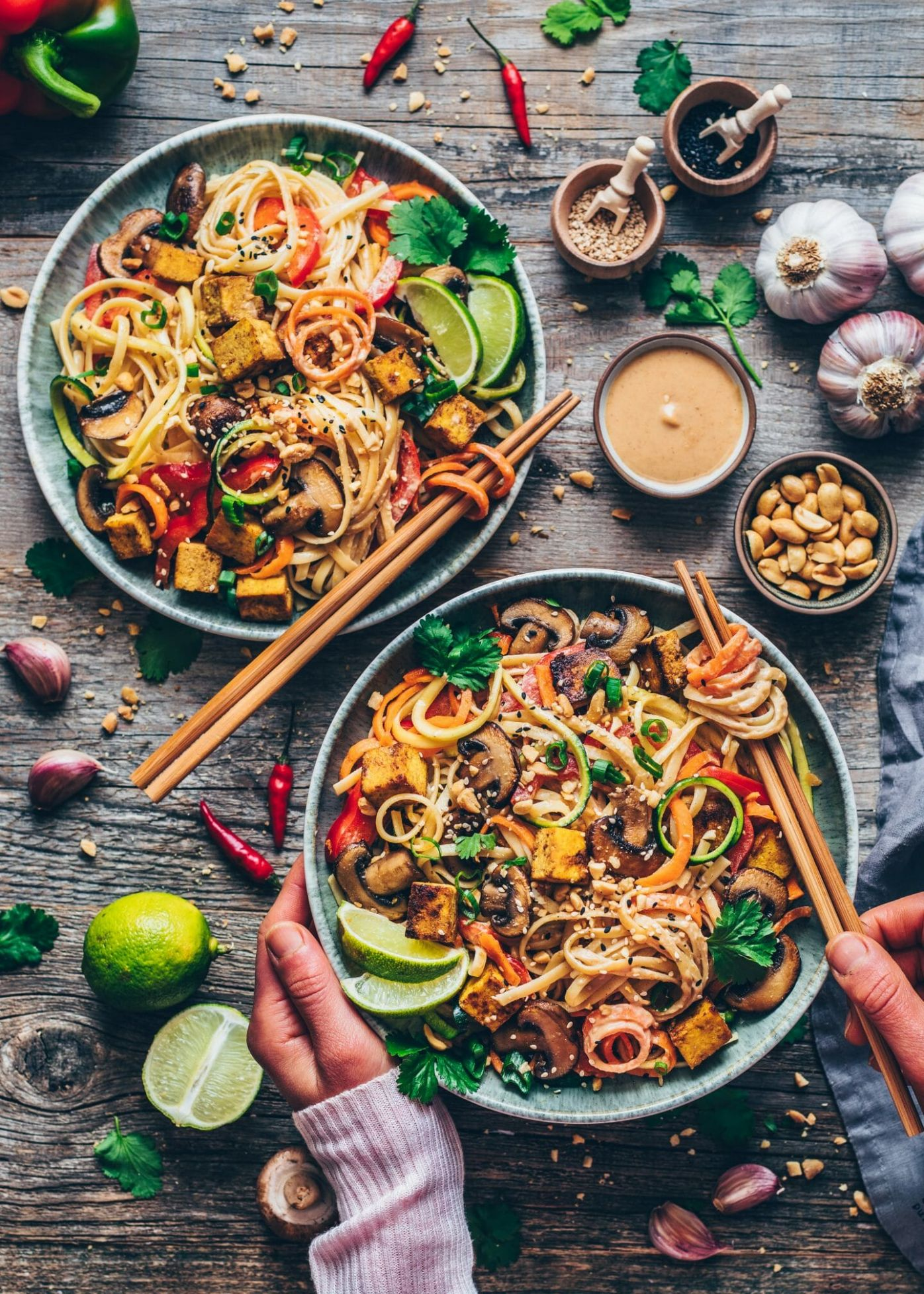 Vegan Pad Thai - Vegetable Recipes Easy Healthy