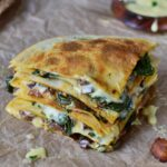 Vegan Spinach Quesadillas – Recipe Vegetarian Quesadillas