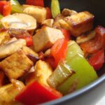 Vegan Stir-Fry with Hoisin Sauce and Coconut Rice