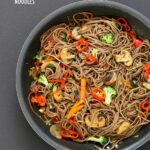 Vegan Vegetable Lo Mein With Soba Noodles – Recipes Vegetable Lo Mein