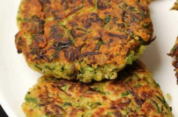 Vegan Zucchini Fritters - Loving It Vegan