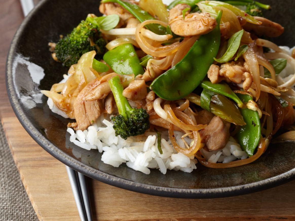 Vegetable and Chicken Stir-Fry - Recipes Chicken Vegetable Stir Fry