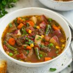 Vegetable Beef Soup – Cooking Classy – Recipes Vegetable Beef Soup