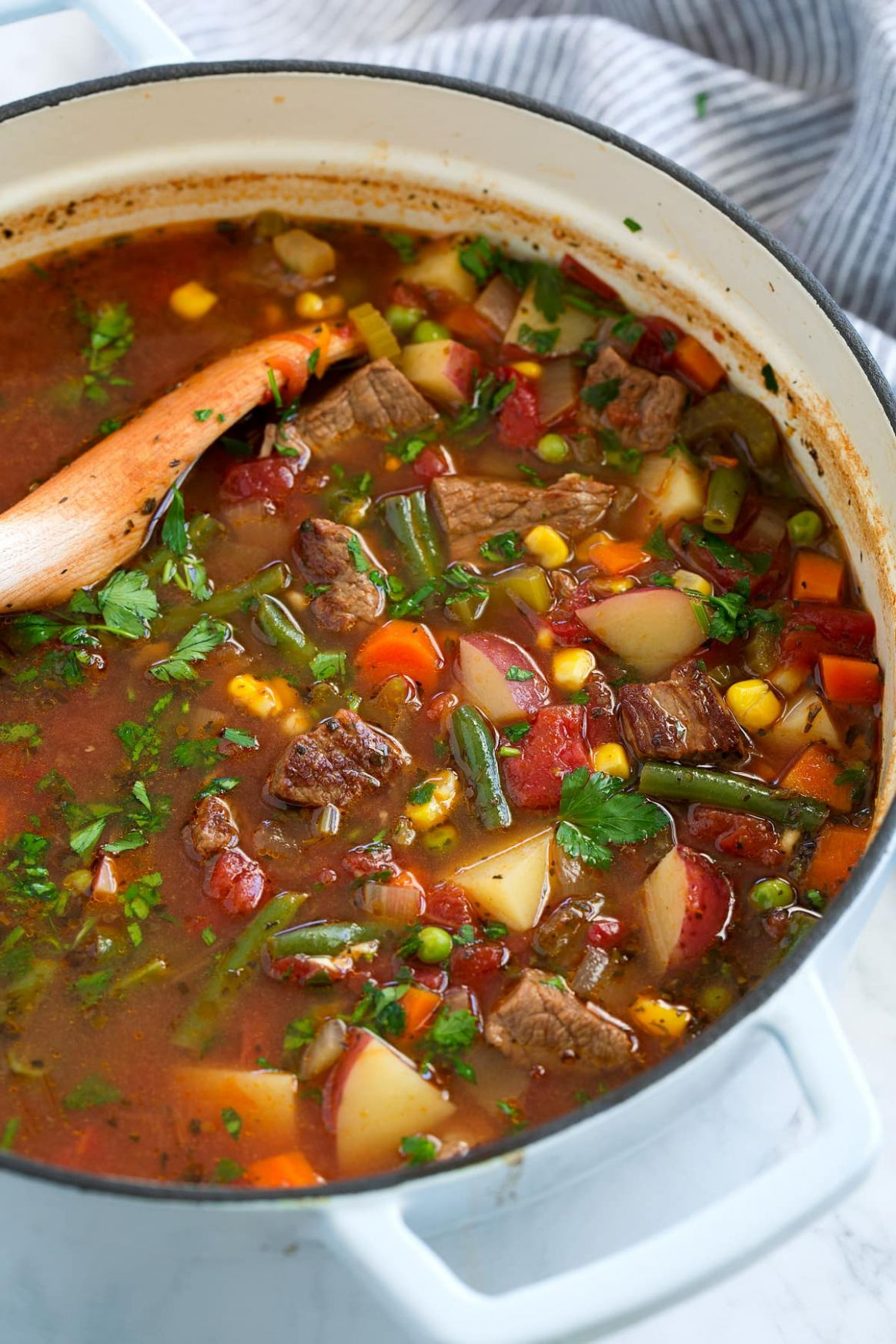 Vegetable Beef Soup - Recipes For Vegetable Beef Soup
