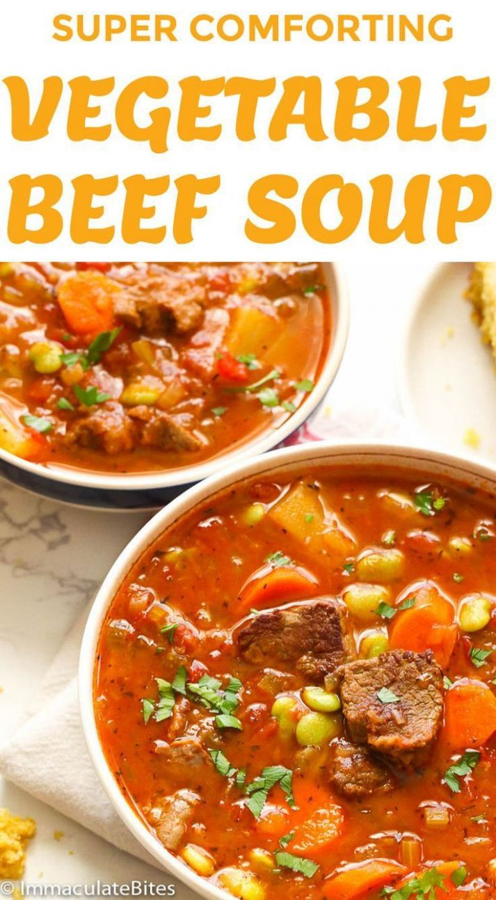 Vegetable Beef Soup - Recipes Veg Beef Soup
