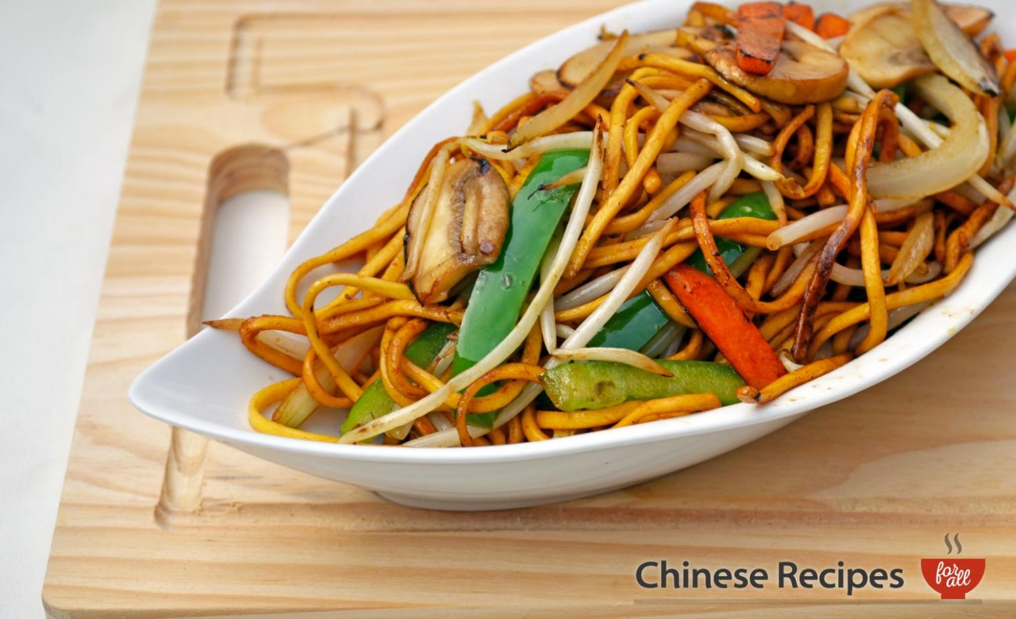 Vegetable Chow Mein Noodles - Recipes Vegetable Lo Mein
