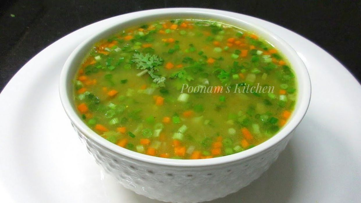 Vegetable Clear Soup Recipe - Simple Easy & Healthy Vegetable Clear Soup  -How to make Veg Clear Soup