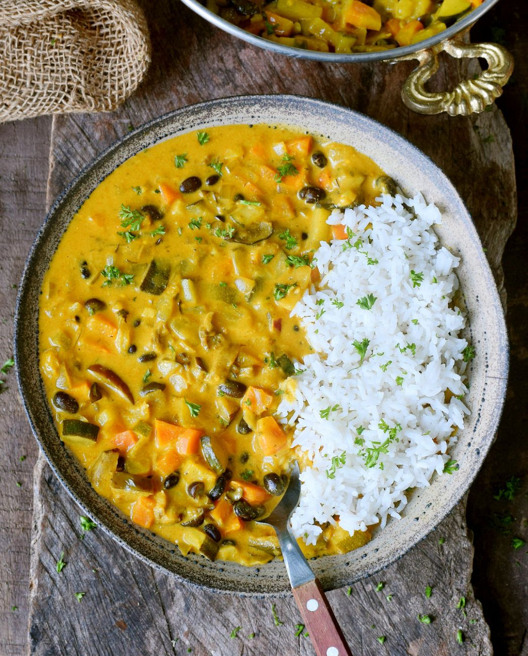 Vegetable curry - Recipes Vegetable Curry Coconut Milk