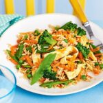 Vegetable Fried Rice With Egg Ribbons – Recipes Rice And Vegetables