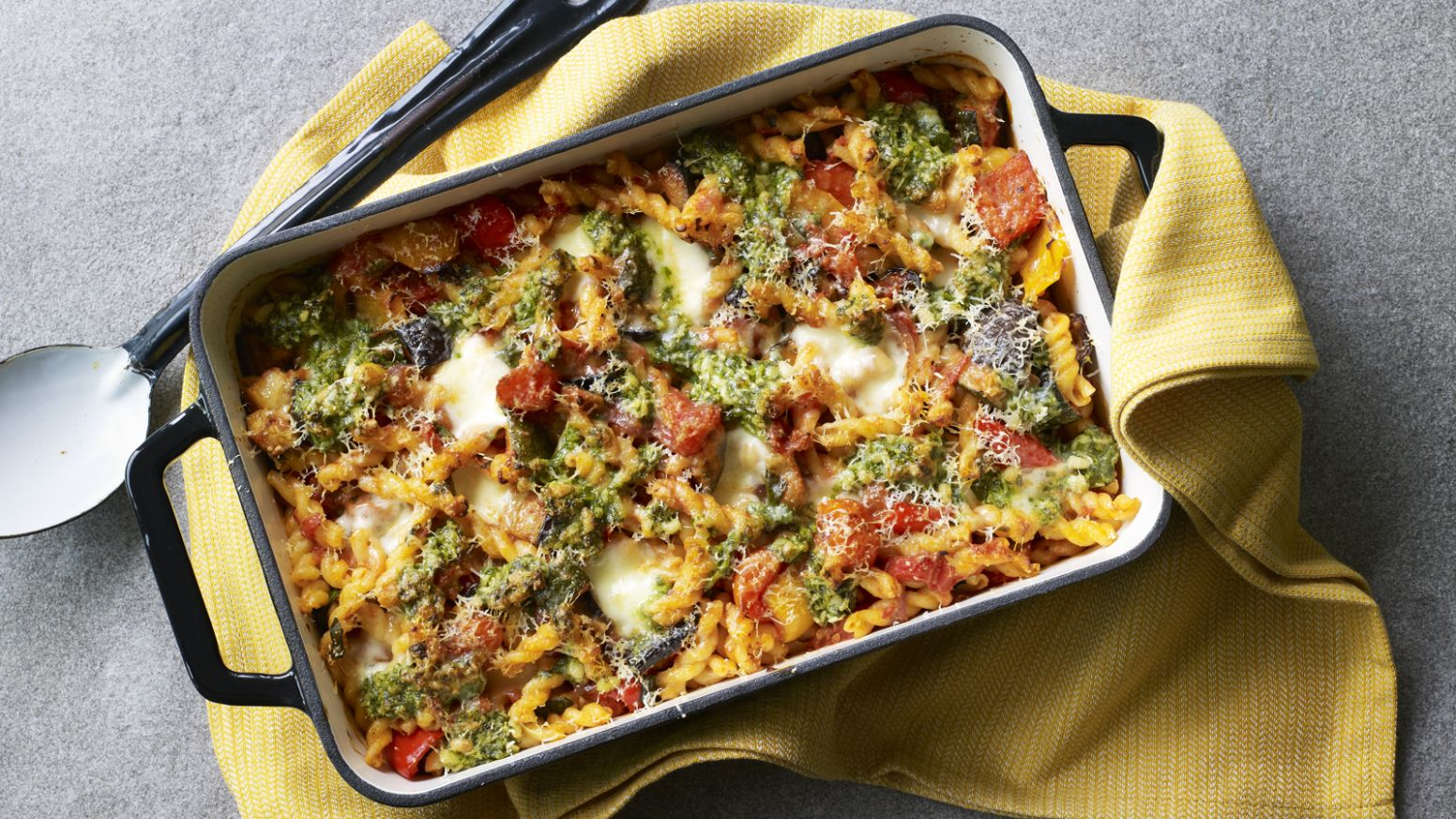 Vegetable pasta bake - Vegetable Recipes Uk